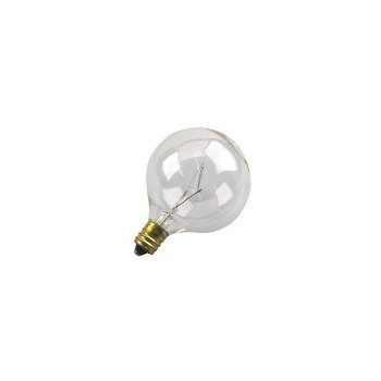 Light Bulb, Globe Clear 120 Volt 40 Watt
