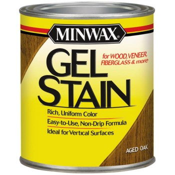 Gel Stain, Aged Oak - 1 Quart