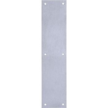 "Tell Mfg DT100072 Door Push Plate ~ 3.5"" x 15"""