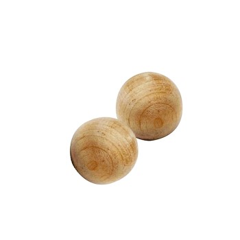 "Wood Ball Knob ~ 1.25"" Diameter"