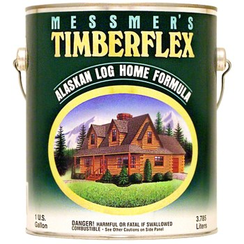 Timberflex Log Home Finish, Clear Satin Topcoat ~ Gallon