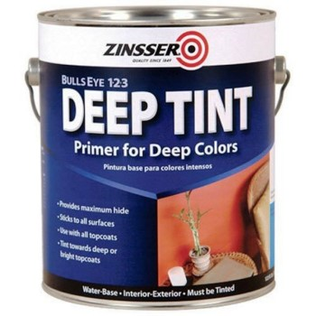 Bulls Eye 1-2-3 Primer/Sealer,  Deep Tint/Gal