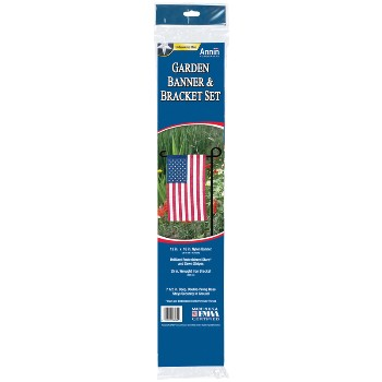 12in. X 18in. Us Gard Flag Set