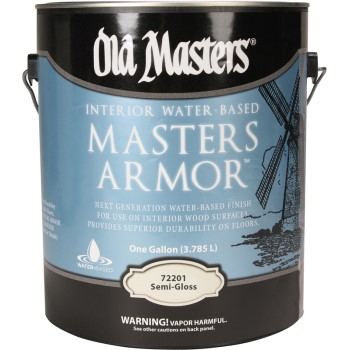 Master Armor Polyurethane Finish, Semi-Gloss Clear ~ Gallon
