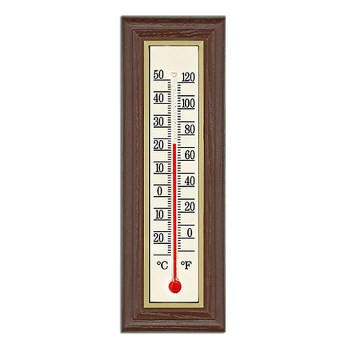 "Indoor Durango Design Thermometer,   Approx 8.65"" x 3"""