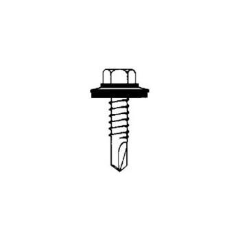 Sealtite 14B200D3HOGS250 1/4-14x2in. 250pk #3 Tek Screw