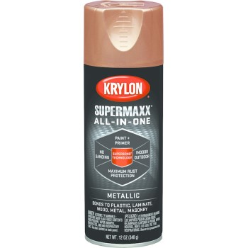 SuperMaxx Metallic Finish Spray Paint, Copper