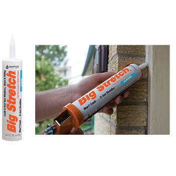 Big Stretch Acrylic Sealant, Almond  ~ 10.5 oz.