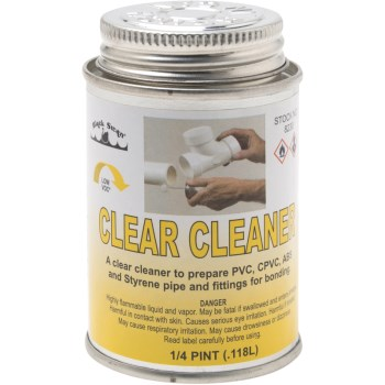 4 Oz Clear Cleaner