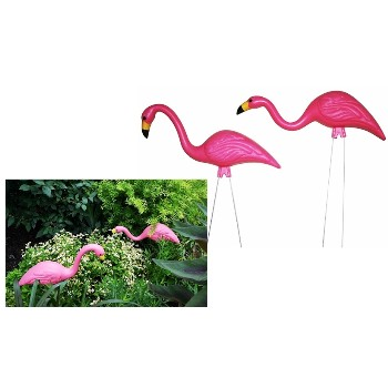 Southern Patio HDR-493674-10 Pink Garden Flamingos ~ 2 Pack
