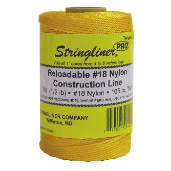 Replacement Construction Line, Gold  ~ 540 Ft Roll