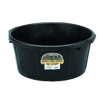 Rubber All Purpose Tub, 6.5 Gallon