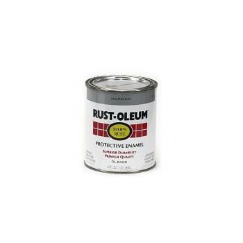 Rust-Oleum 7715502 Stops Rust Bright Metallic Finish,  Aluminum ~ Quart