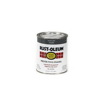 Rust-Oleum 7786502 Protective Enamel - Smoke Gray - 1 QT