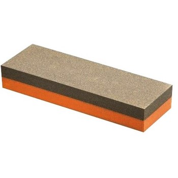 "India Combination Grit Bench Stone, Coarse/Fine ~ 5"" x 2"" x 3/4"""