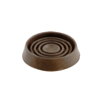 "Round Brown 1.5"" Rubber Cups"