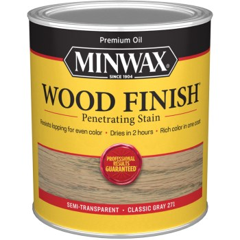 Wood Finish, Classic Gray Stain ~ Quart