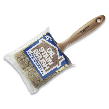 Oil Stain Brush, 4052, 4 inches