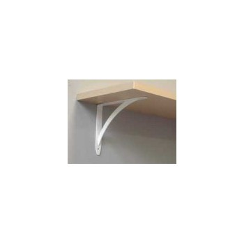 "Elegant Shelf Bracket, White  ~ 6-3/4""  x 5-5/8"""