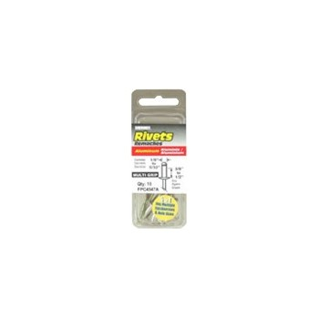 Aluminium Rivet, 1/8 inch, 25 packs