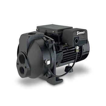 Simer Convertible Deep Well Jet Pump ~ 1 HP
