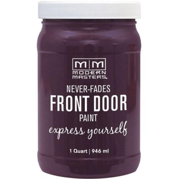 Express Yourself Front Door Satin Paint, Spontaneous ~ Quart