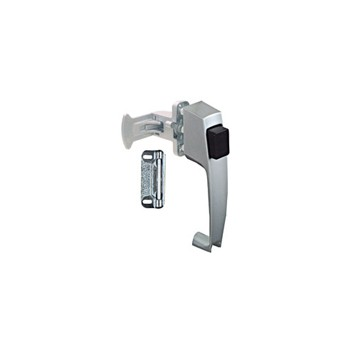 Silver Pushbutton Latch, Visual Pack 1313