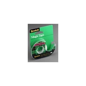 3M 02120000004 Scotch Tape - Transparent - 0.5 x 800 inch