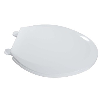 LDR  0502020WT Toilet Seat-Plastic, Elongated ~ White