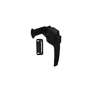 Satin Black  Pushbutton Latch. Visual Pack1326