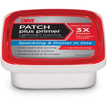 3M PPP-8-BB Spackle, Patch-N-Primer In One