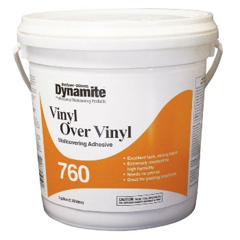 Vinyl Wallcovering Adhesive - One Gallon