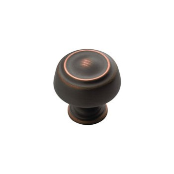 Knob - Oil Rubbed Bronze Finish - 1.25 inch