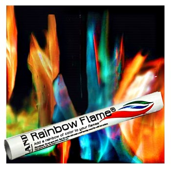 Rainbow Flame Sticks   ~  Pack of 24 Sticks