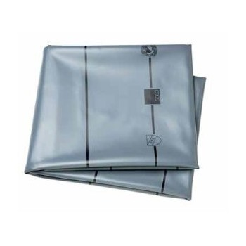 Shower Pan Liner, Gray - 5' x 6'
