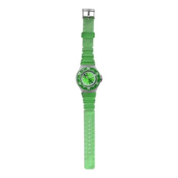 Jelly Clip, Green Dial, Green Bezel & Strap