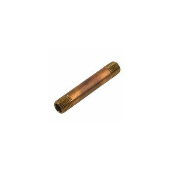 Anderson Metals 38300-1660 Nipple - Red Brass - 1 x 6 inch