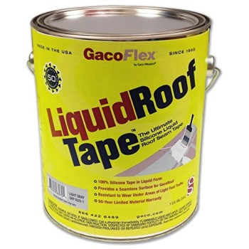 Liquid Roof Tape, Light Gray ~ Gallon