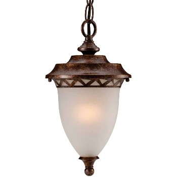 Chain Hung Lighting Fixture - Aged Bronze