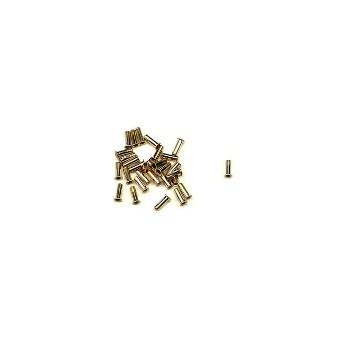 "Anderson Metals 30561-04 Brass Inserts ~ 1/4"""