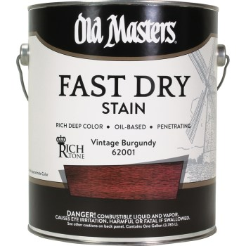 Fast Dry Wood Stain, Vintage Burgundy ~ One Gallon