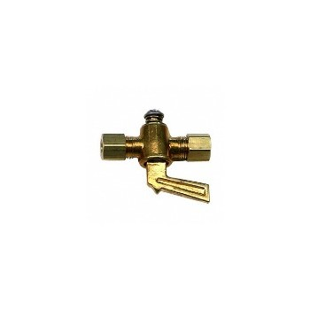 Anderson Metals 59206-04 Shut Off Cock - Brass - .25 inch