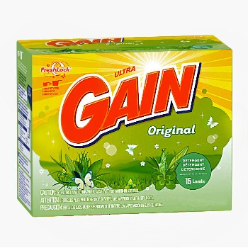 Gain Detergent Powder ~ 29oz/15 Loads