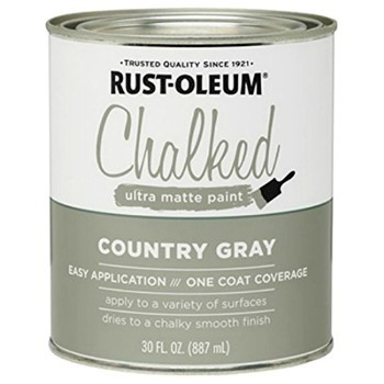 Chalked Ultra Matte Paint,  Country Gray ~ 30 oz