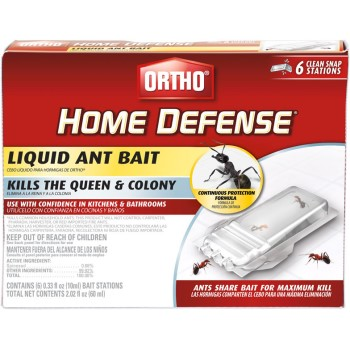 Bwi - O M Scott & Sons Co Or0464812 0464812 6pk Liquid Ant Bait
