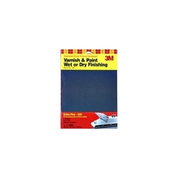3M 051144090860 Sandpaper - Wet or Dry - Extra Fine