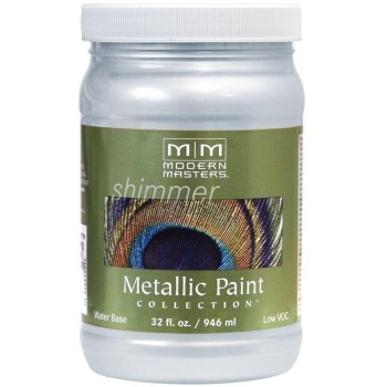 Metallic Paint, Flash Blue 32 Ounce
