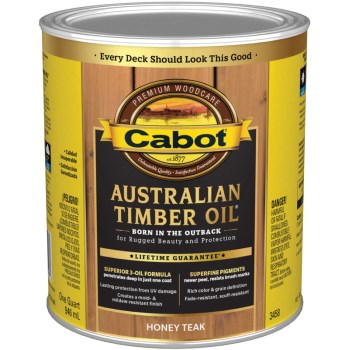 Australian Timber Oil - Honey Teak ~ 1 Quart