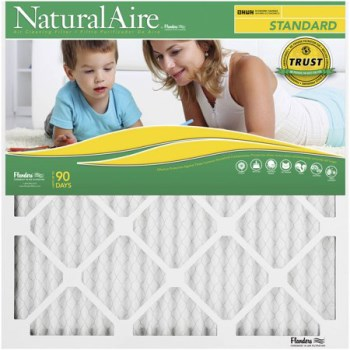 "AAF Flanders 84858.012222 Naturalaire Standard Pleated Air Filter ~  22"" x 22"" x 1"""