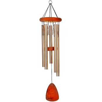 "Windchimes, 28""  Festival Series ~ Bronze Finish"